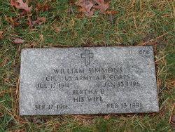 Bertha L Simmons