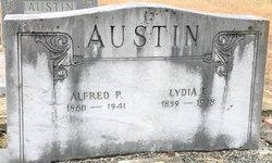 Lydia Elizabeth <I>Sanders</I> Austin
