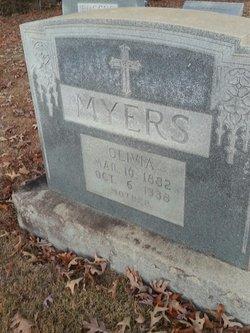 """Olivia """"Ollie"""" <I>Whiteside</I> Myers"""