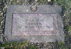 "Anna Pearl ""Pearl"" <I>Williams</I> Brown"