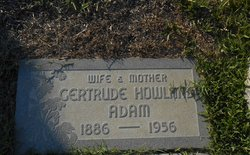 Gertrude Emma <I>Howland</I> Adam