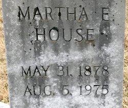 Martha E. House
