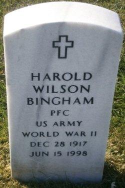 Harold Wilson Bingham