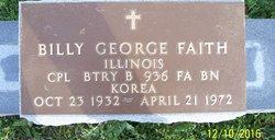 Billy George Faith