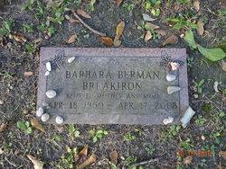 Barbara <I>Berman</I> Breakiron