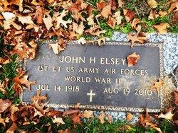 1LT John Harold Elsey