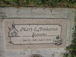 Mary E. <I>Pinkerton</I> Stevens