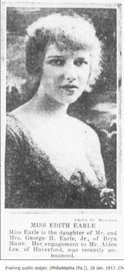 Edith Newlin <I>Earle</I> Lee