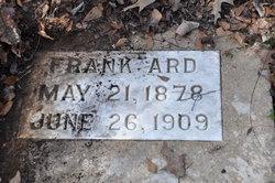 "Andrew Jackson Franklin ""Frank"" Ard"