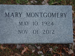 Mary <I>Hammonds</I> Montgomery