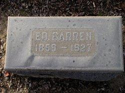 "Edward ""Ed"" Barren"