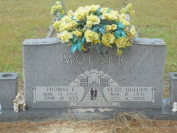 """Thomas Elmer """"Tom"""" Mouser"""