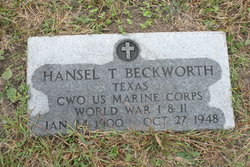 Hansel Turner Beckworth