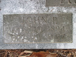 John P Anderson