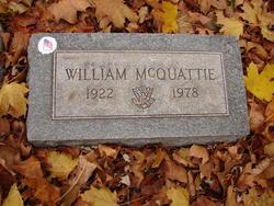 """William """"Bill"""" McQuattie"""
