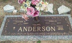 Dora <I>Edwards</I> Anderson