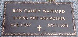 Ren <I>Gandy</I> Watford