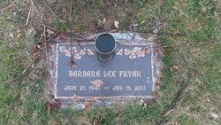 Barbara Lee <I>Brockway</I> Fryar