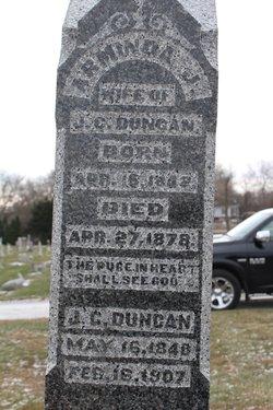 Margaret Arminda Jane <I>Stice</I> Duncan