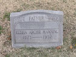 """Elisha Archibald """"Archie"""" Manning"""