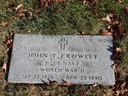 John Y Crowley
