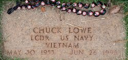 """LCDR Charles Eugene """"Chuck"""" Lowe"""