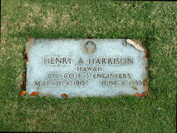 CPL Henry A Harrison