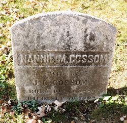 Nannie M. Gossom