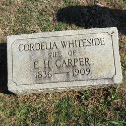 Cordelia L <I>Whiteside</I> Carper