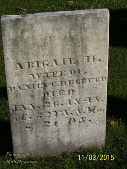 "Abigail H. ""Abbie"" <I>Miller</I> Hulburd"