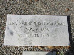 Lena <I>Loadholt</I> Adam