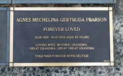 Agnes Mechelina Gertruda Pearson