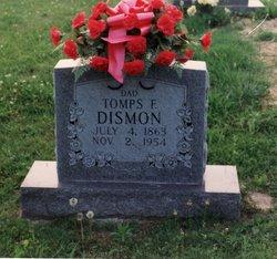 Tompson F Tomps Dismon 1863 1954 Find A Grave Memorial