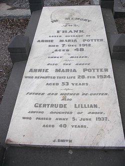 Gertrude Lillian Potter
