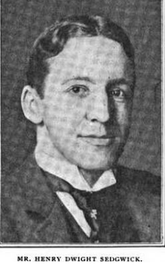 Henry Dwight Sedgwick, III