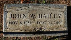 John W Bailey