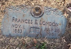 Frances E. <I>Benderman</I> London