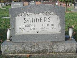 Lela W <I>Murphy</I> Sanders
