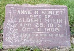 Anna R. <I>Burlet</I> Stein