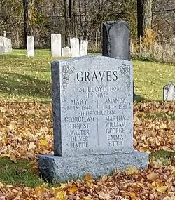 Mary Ann <I>Johnston</I> Graves