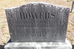 Maria A <I>Blood</I> Bowers