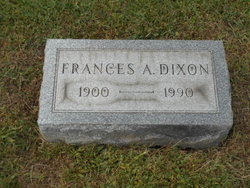 Frances A. <I>Shivie</I> Dixon