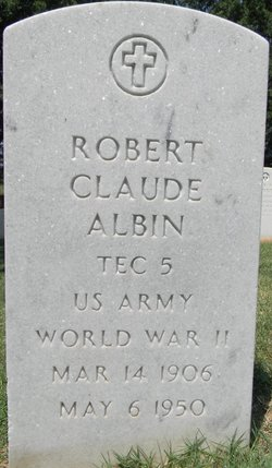 Robert Claude Albin