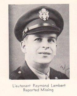 1Lt Raymond P. Lambert