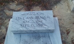 Laura Lucy Ann <I>Courson</I> Branch
