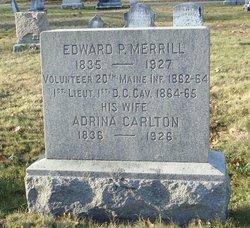 Adrina <I>Carlton</I> Merrill