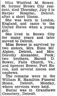 Winifred Bower