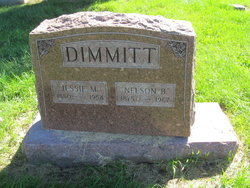 Jessie M. <I>Burtnett</I> Dimmitt