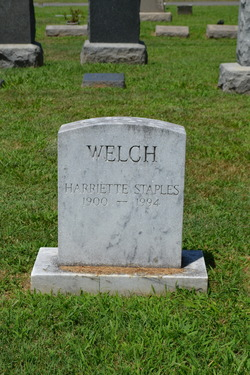 Harriette Staples Welch