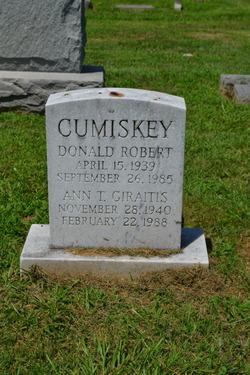 Donald Robert Cumiskey